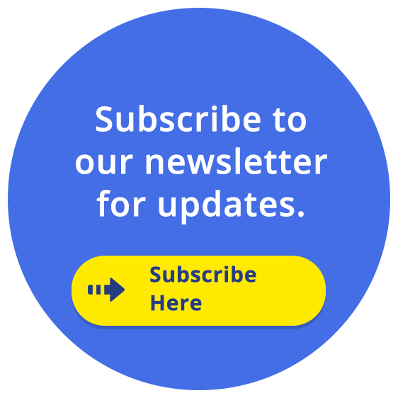 Subscribe to our newsletter for updates: Click here to subscribe